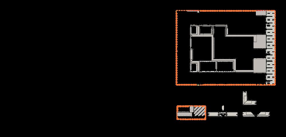 תכנון אדריכלי של החלל