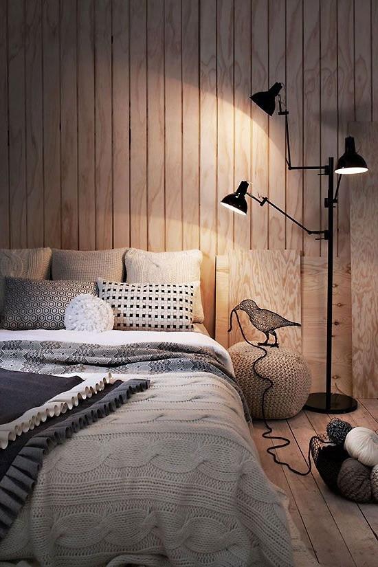 תאורה נעימה ואינטימית - עיצוב פנים לחדר השינה