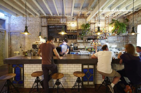 בר ישיבה, מערב לונדון, עיצוב פנים  interior design restaurant