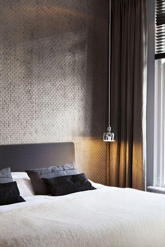 משחקי צל ואור בחדר השינה - עיצוב פנים