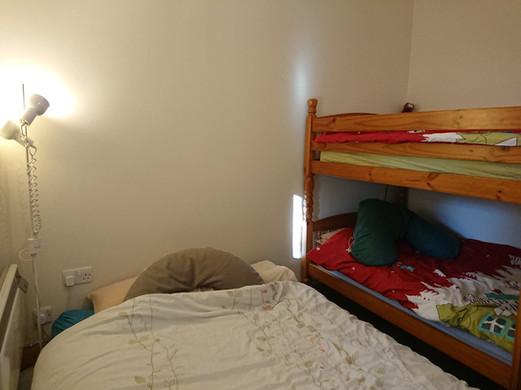 Bedroom- double bed