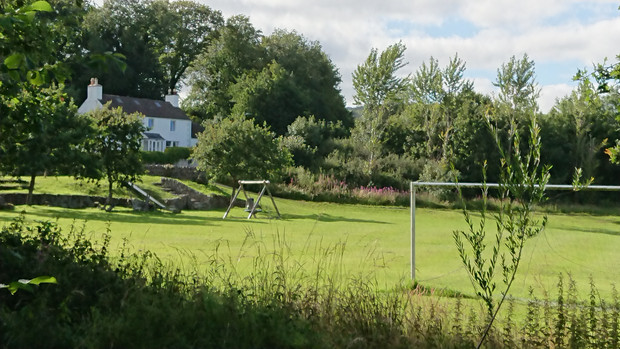 Football and playing field, Auchencairn.