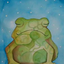 mindful frog