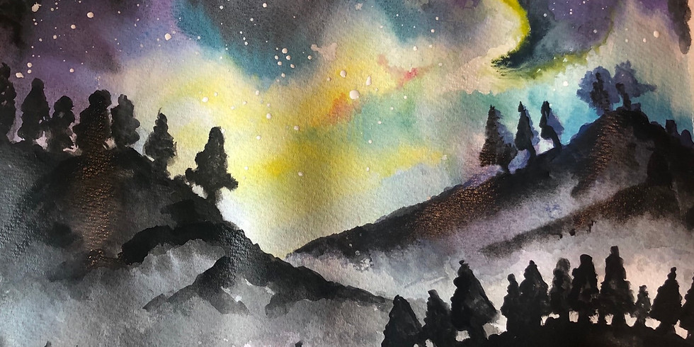 Mindful Watercolour Gouache Painting Workshop for beginners - Painting Class in Brick Lane, London