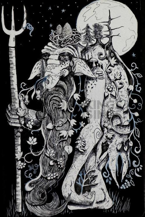 Forrest Guardian - Print on fine art paper