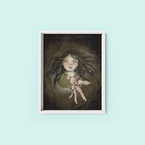 falling- Print on archival fine art paper