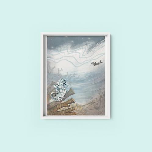 Under the sea - Print on archival fine art paper