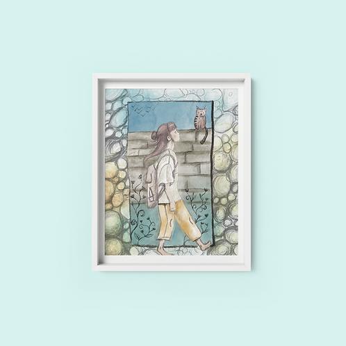 Daydream - Print on archival fine art paper