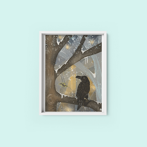 night garden- Print on archival fine art paper