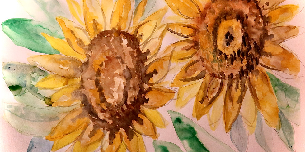Mindful Watercolour Gouache Painting Workshop for beginners - 3 Feb
