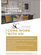 Shadow Catchers Art Job Flyer _ 01_2021.