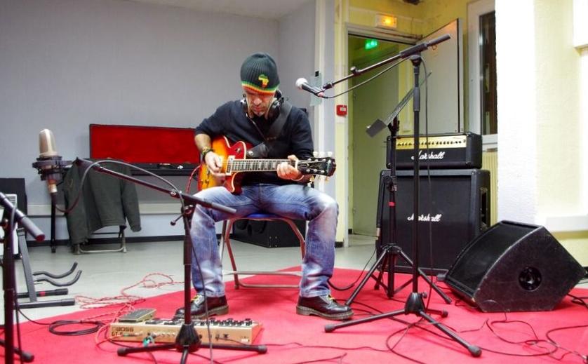 Jef en studio
