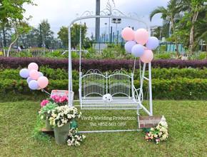 婚禮佈置 九龍仔公園婚禮 Photobooth