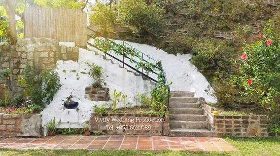 婚禮佈置 The Pavillion 樓梯佈署