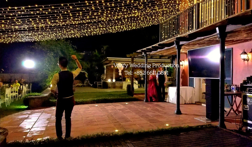 婚禮燈光 131 Wedding Overhead Fairy Lights