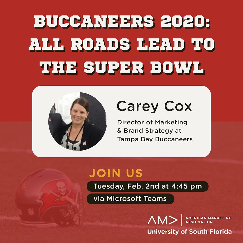 Carey Cox | Buccaneers 2020: All Roads Lead to The Super Bowl