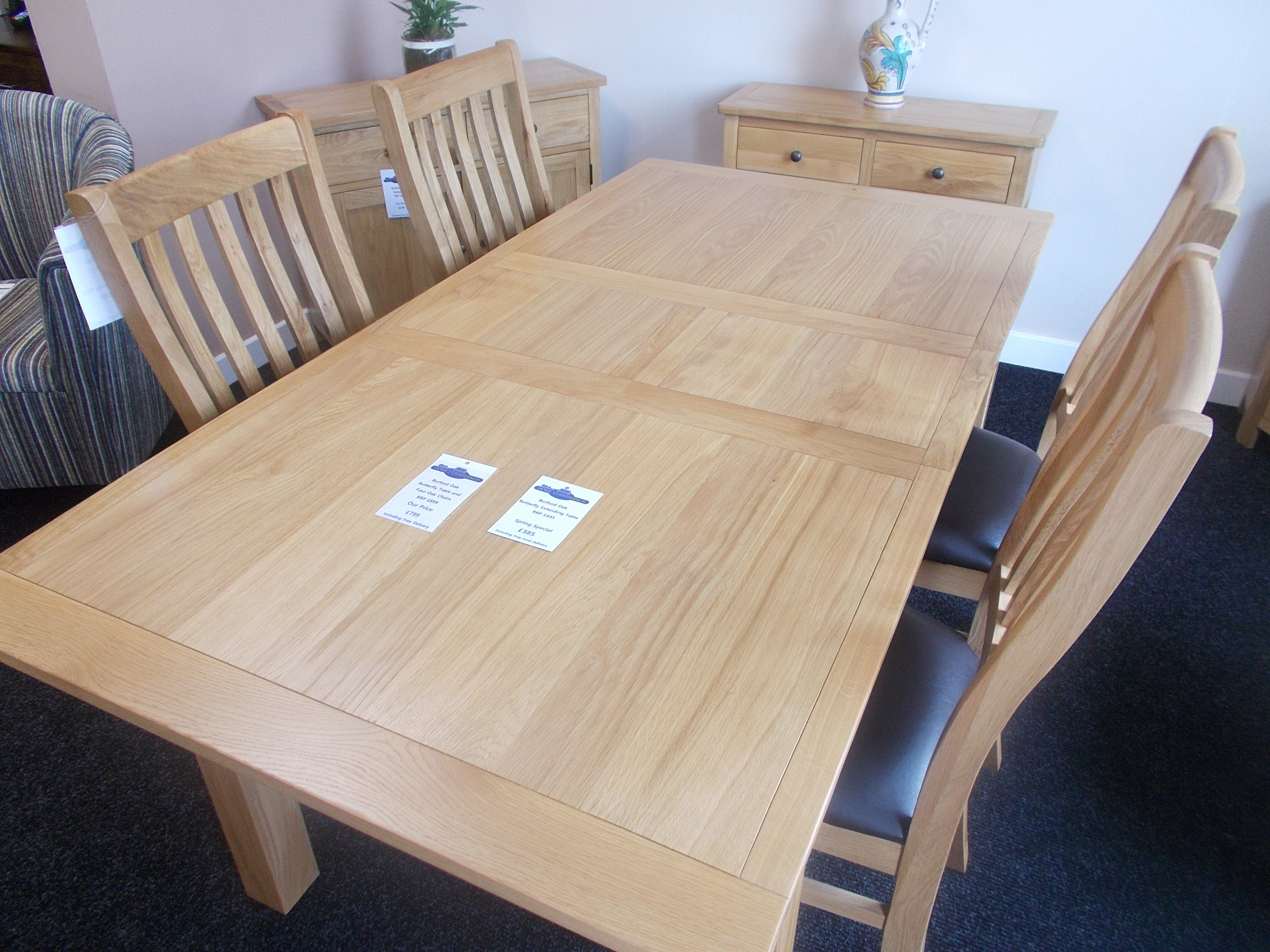 Burford Table and Chairs