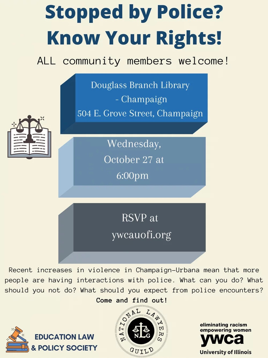 U of I's YWCA To Host Event Addressing Rise In Violence In Champaign-Urbana