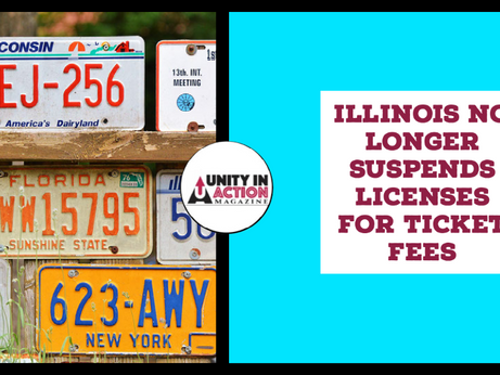 Illinois No Longer Suspends Licenses For Ticket Fees
