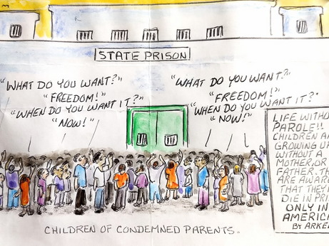 The Change We Seek In Justice Reform: Support For The Children Of Incarcerated Parents