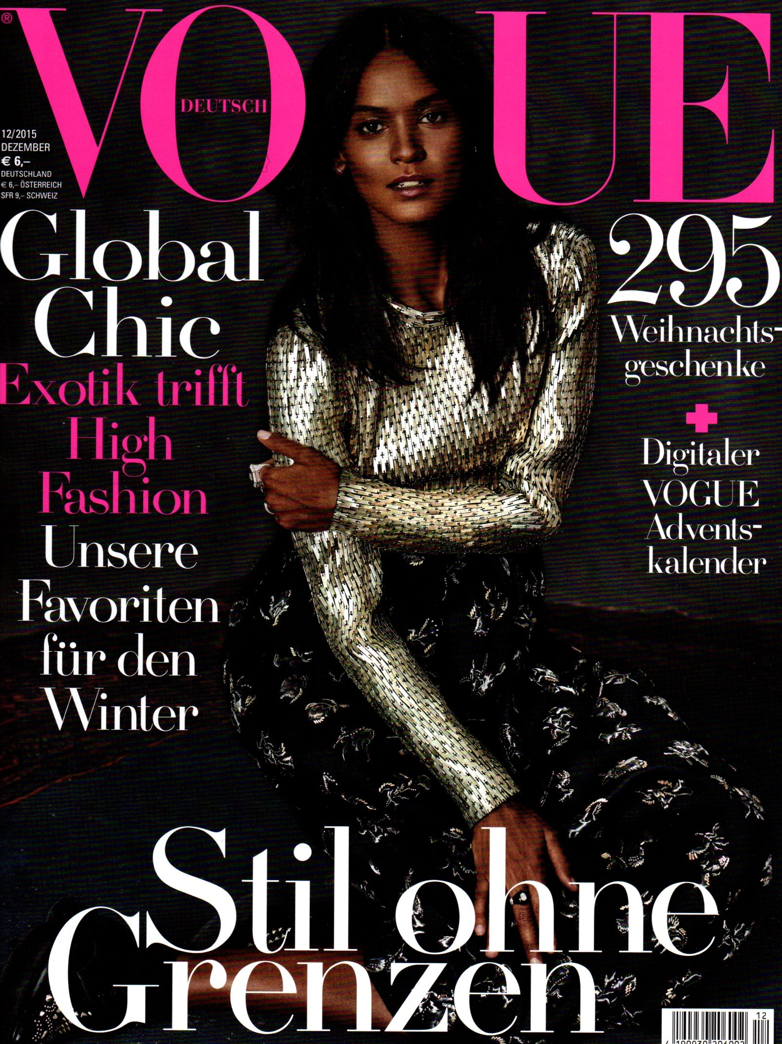 VOGUE (german) Decmbr 2015 cover