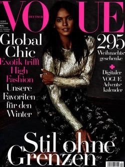 VOGUE (german) Decmbr 2015 cover