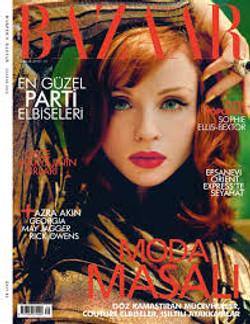 Sophie-Ellis Bextor Harpers Bazaar