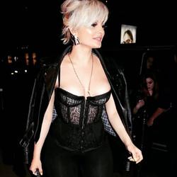 Bebe Rexha wearing Aris Geldis
