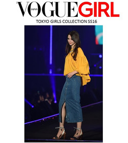 aris Geldis necklace at VOGUE JAPAN in TOKYO GIRLS COLLECTION SS16