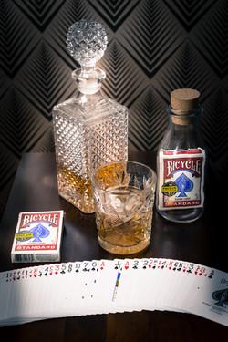 Cards in Bottle
