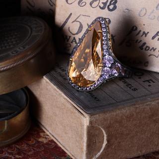 Twelve carat ring.