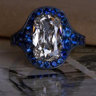 Internally Flawless Diamond Ring.