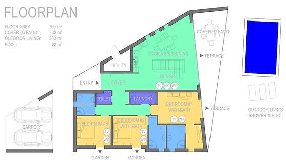 Villa ViNi Floorplan