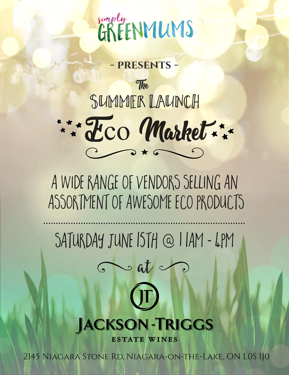 Summer Launch Eco Market - FREE