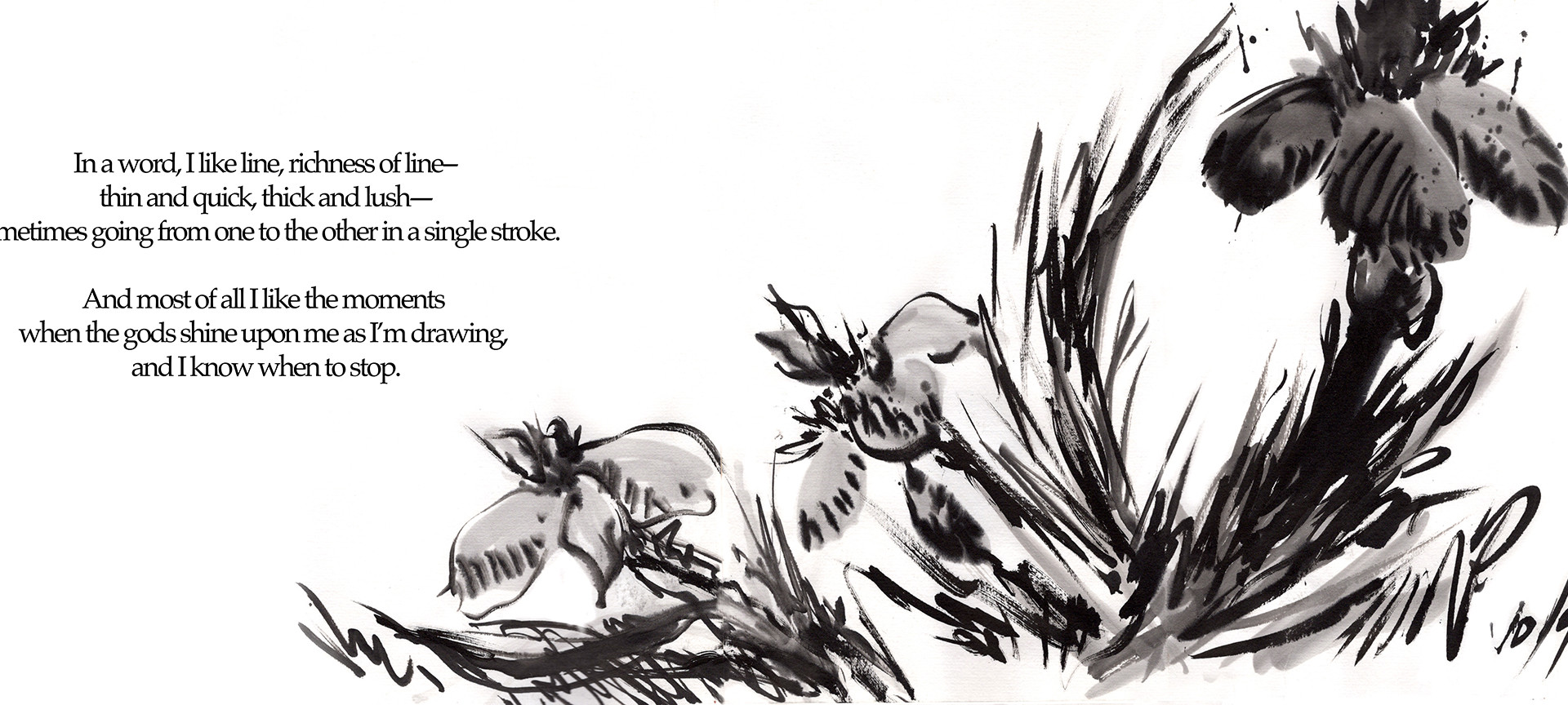 Ink Flower - Life on the Page, A Graphic Memoir