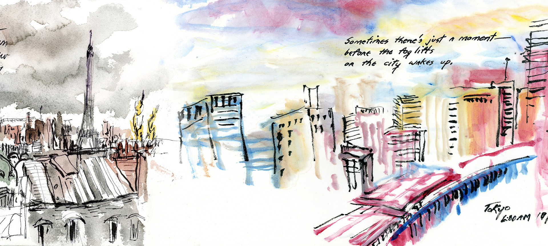 Tokyo and Paris - Life on the Page, A Graphic Memoir