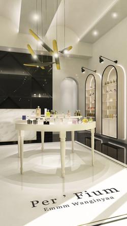 04 retail - women perfume display
