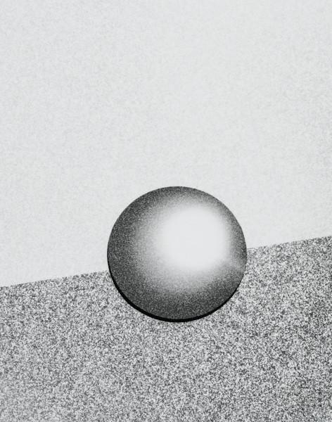 nonpicture series n-20, 25X20cm, Gelatin