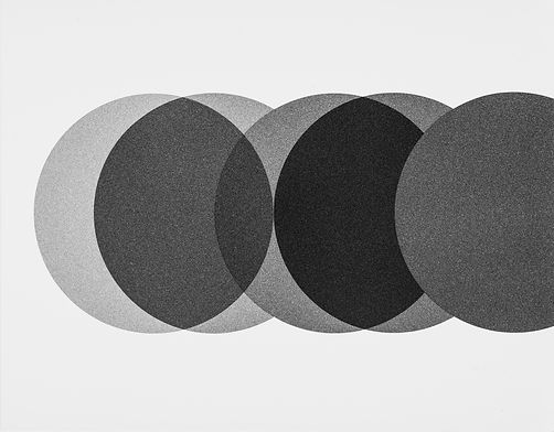 Combination of circles n1_36.4X46.4cm_ge