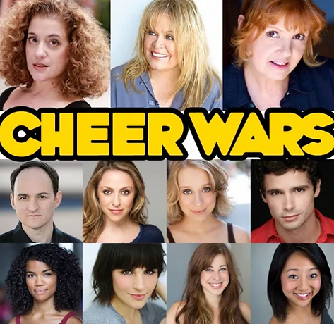 Cheer Wars Reading, York Theatre Company, Music by Karlan Judd, Book and Lyrics by Gordon Leary, Sally Struthers, Mary Testa, Annie Golden