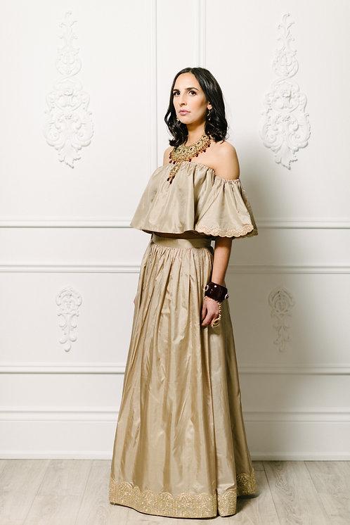 Simran Skirt In Olive