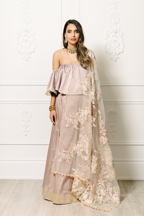 Simran Skirt in Lilac