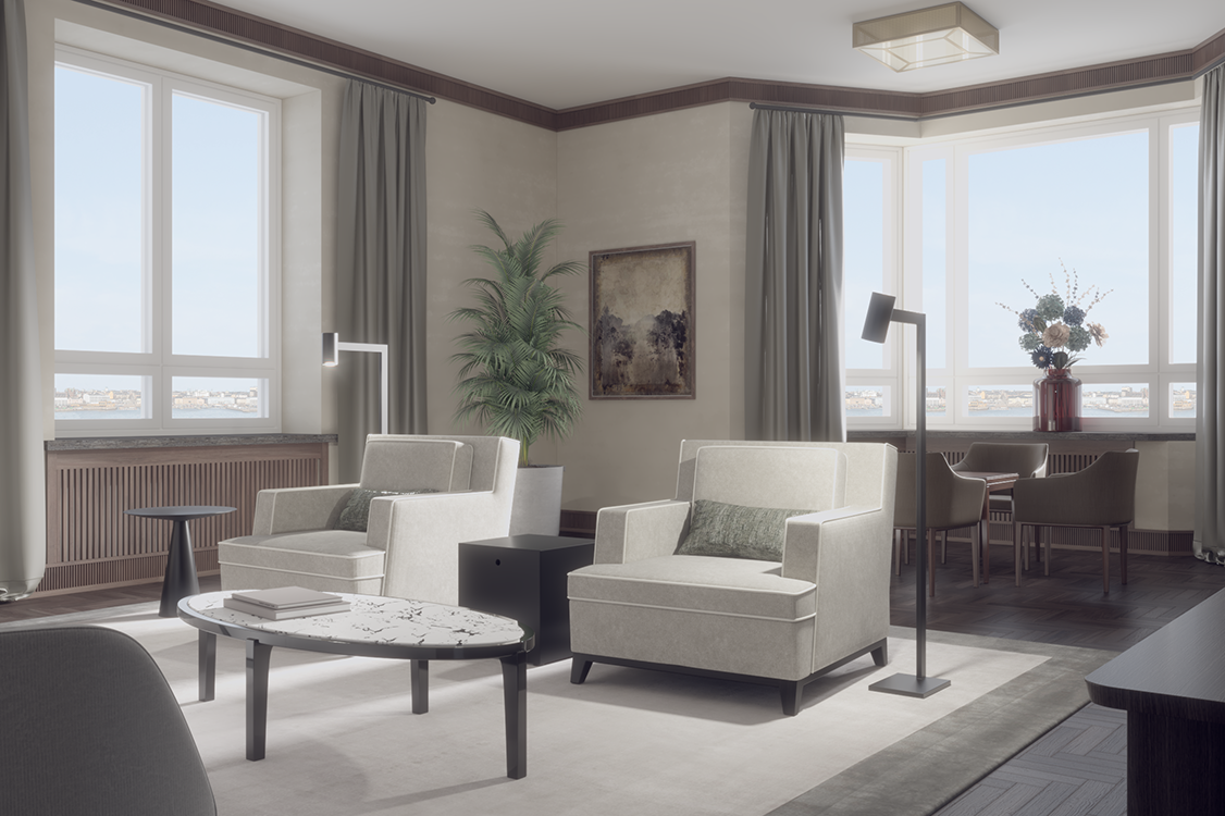 Residence W — Reception Room