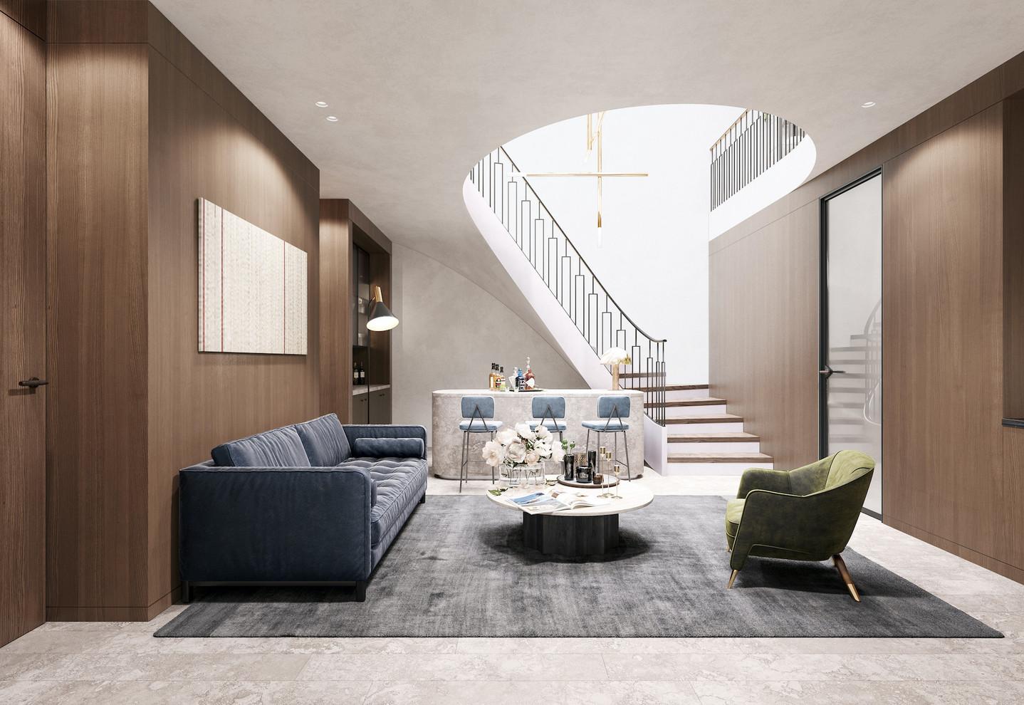 Residence K II — Reception Room