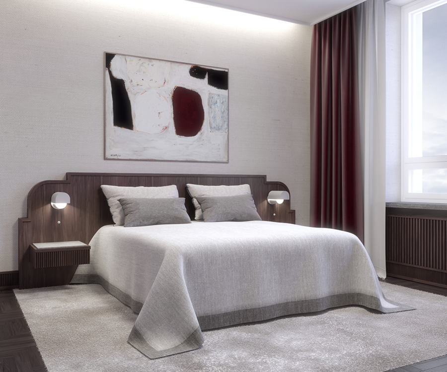 Residence W — Bedroom