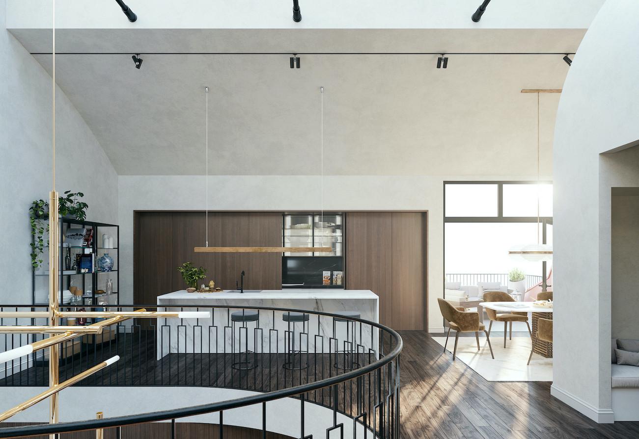 Residence K II — Dining Room