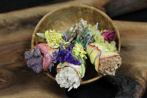 Floral Sage Smudge