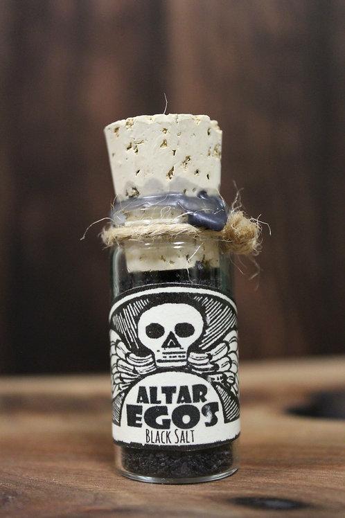 Black Salt Ritual Powder