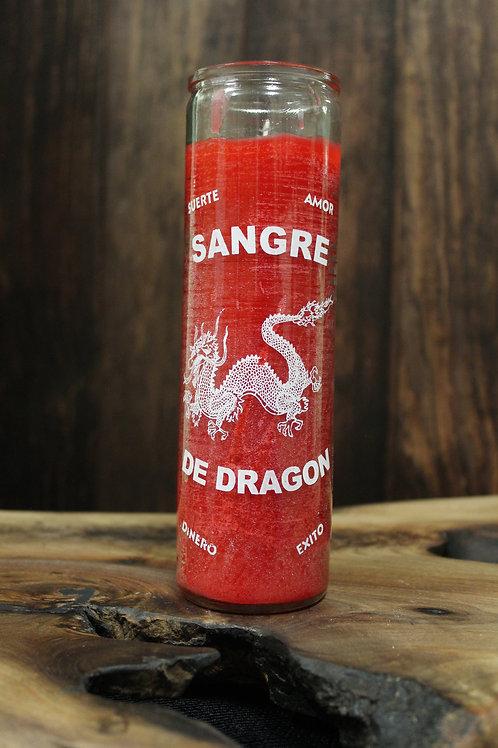 Dragon's Blood Jar Candle