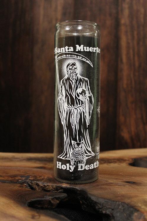 Santa Muerte Jar Candle